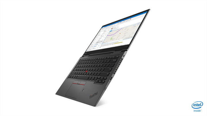 lenovo updated thinkpad x1 carbon yoga ces 2019 04 hero left 180 degree