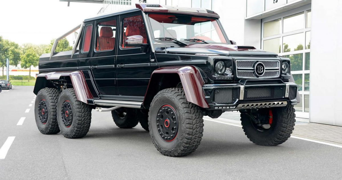 Brabus Mercedes G63 Amg 6x6 Official Pictures And Specs Digital Trends
