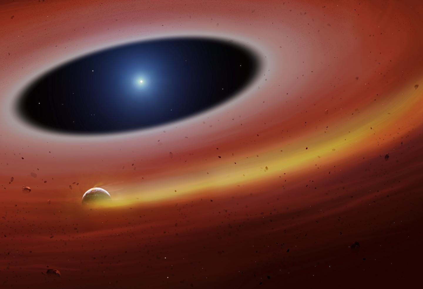 Death of a planet: Astronomers discover grisly scene of planetary destruction