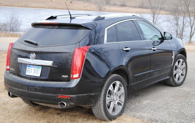 2012 cadillac srx back passenger side