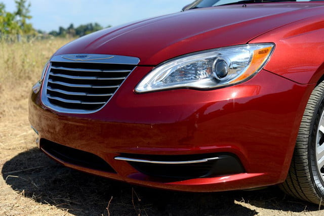 2012 chrysler 200 touring convertible review exterior front angle