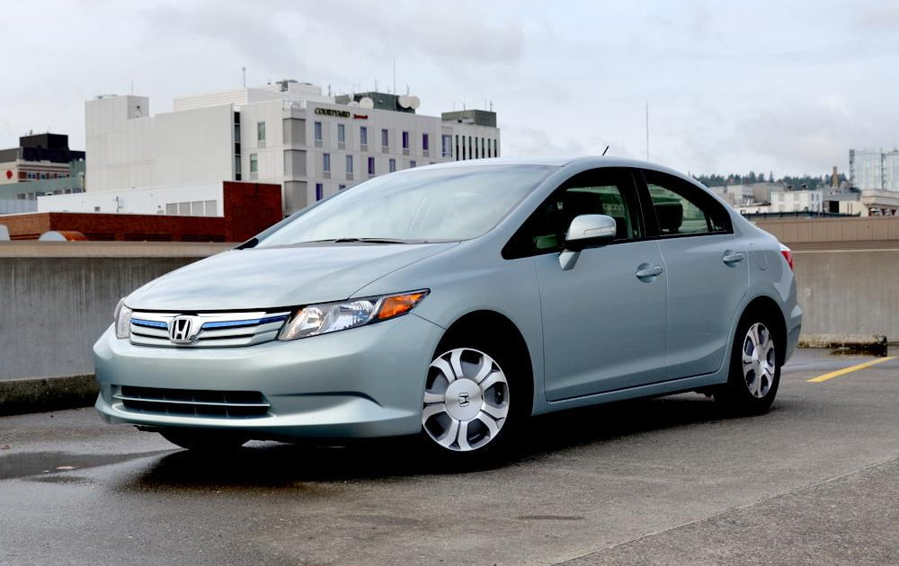 2012 honda civic hybrid review digital trends. Black Bedroom Furniture Sets. Home Design Ideas