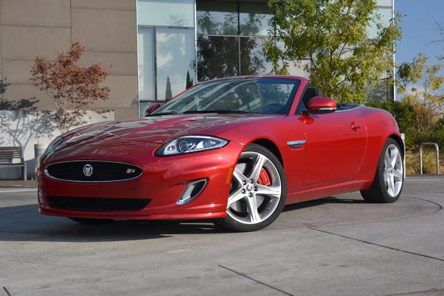 2012 jaguar xkr review front side top down