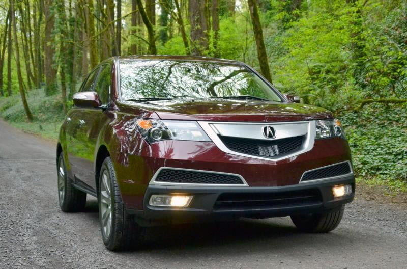 Acura MDX Review Digital Trends - Acura mdx grille