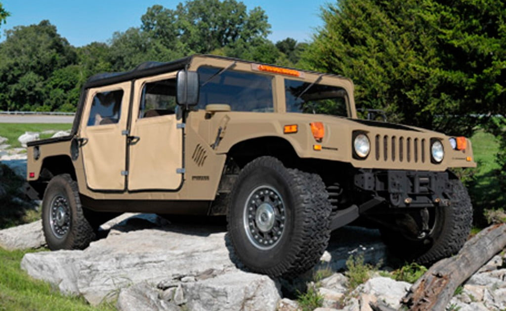 Hummers For Sale >> Humvee C-Series kit: Build your own Hummer for $59,995 ...