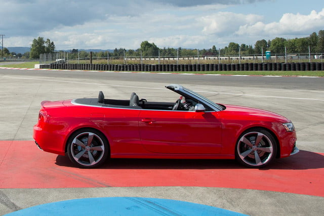 2014 Audi RS 5 Cabriolet right