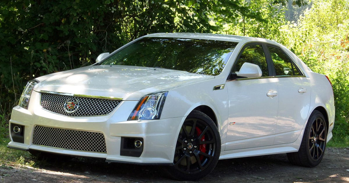 2013 cadillac cts v sedan review digital trends. Black Bedroom Furniture Sets. Home Design Ideas