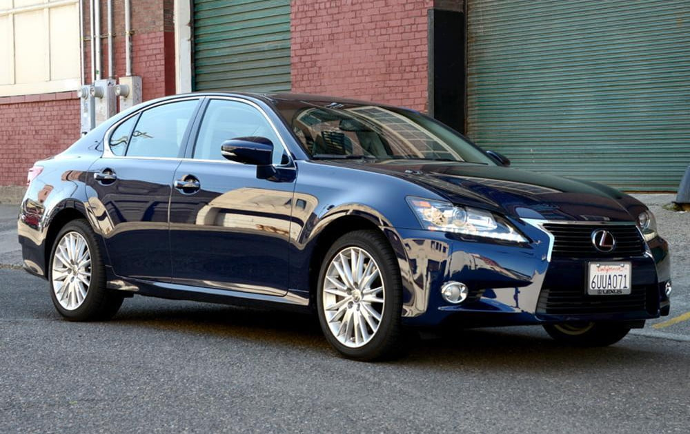 lexus if wired gs awd review