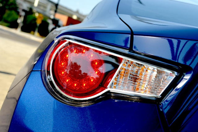 2013 scion fr s review exterior taillight 2
