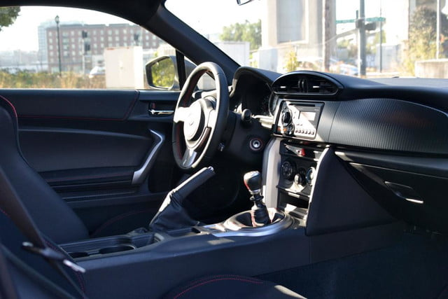 2013 scion fr s review interior drivers side