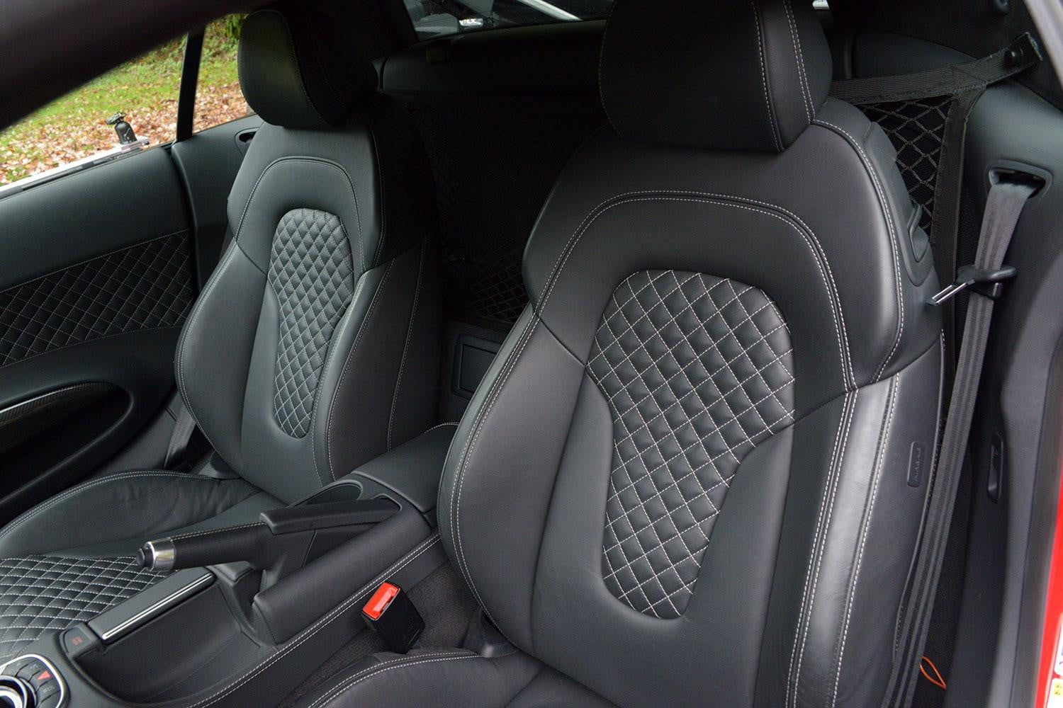 2014 audi r8 v10 s tronic review digital trends. Black Bedroom Furniture Sets. Home Design Ideas