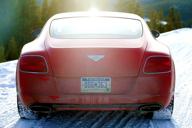2014 Bentley Continental GT red back