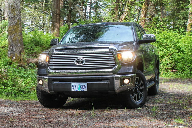 2014 toyota tundra review front angle