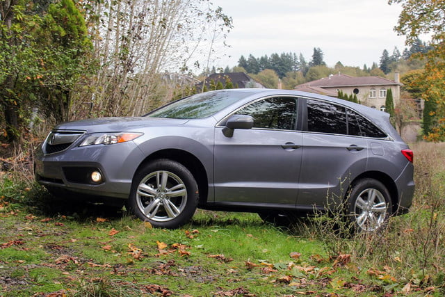 2015 Acura RDX first drive driver side