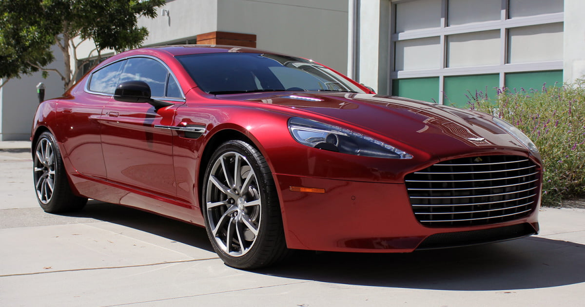 Aston Martin Rapide S Review Digital Trends - Aston martin rapid