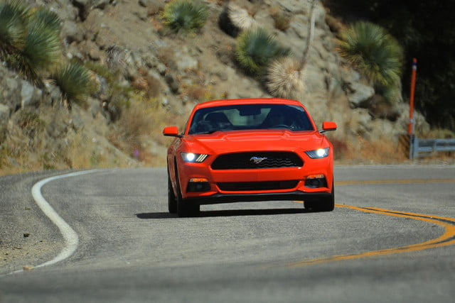 2015 Ford Mustang driving 5