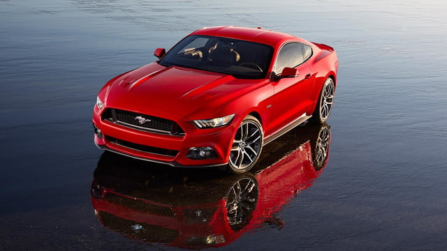 2015 Ford Mustang announcement front left