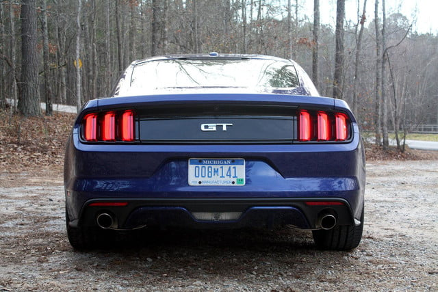2015 Ford Mustang GT back