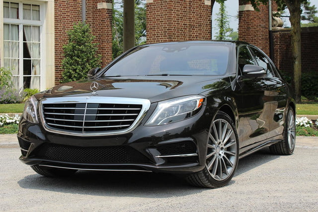 2017 Mercedes Benz S550 Front Angle Side