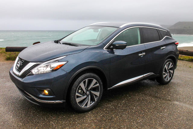 2015 Nissan Murano review side