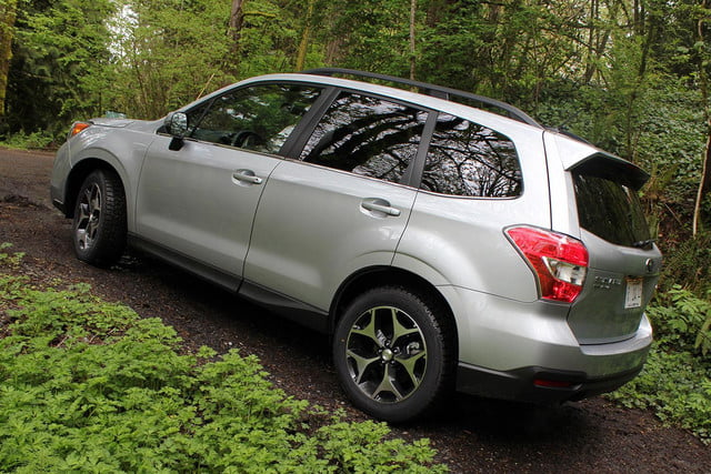 2015 Subaur Forester XT incline