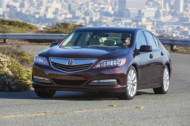 2016 Acura RLX Sport Hybrid driving front side