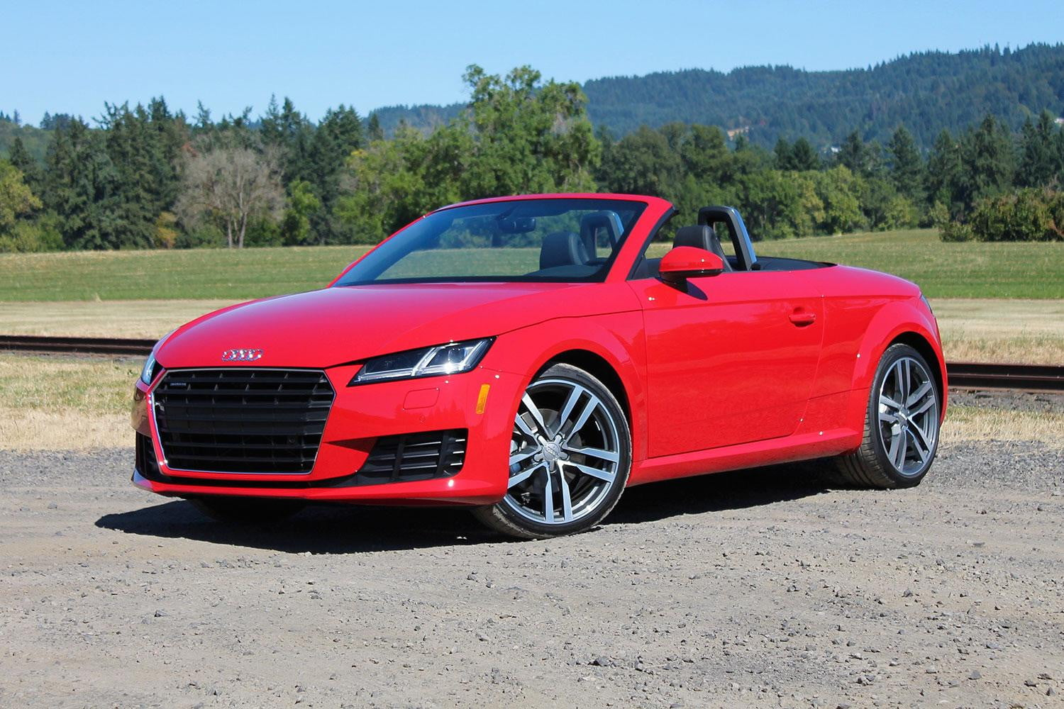 2016 audi tt first drive pictures specs performance digital trends. Black Bedroom Furniture Sets. Home Design Ideas