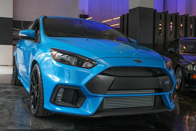 2016 Ford Focus RS front angle