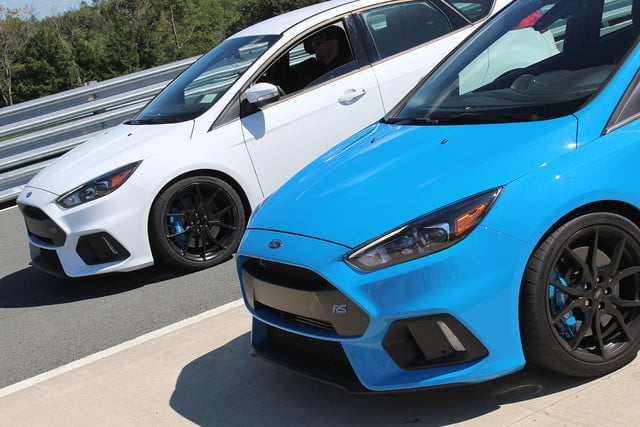 2016 ford focus rs first drive fronts