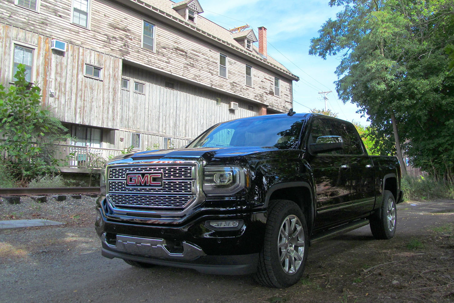 sema lifted truck show wheels forged on gmc denali specialty motor