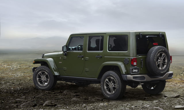 2016 Jeep Wrangler Unlimited 75th Anniversary edition