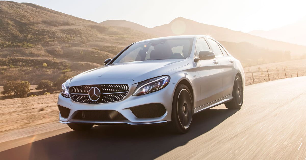 Mercedes benz c450 amg 4matic first drive digital trends for Mercedes benz c450 amg review