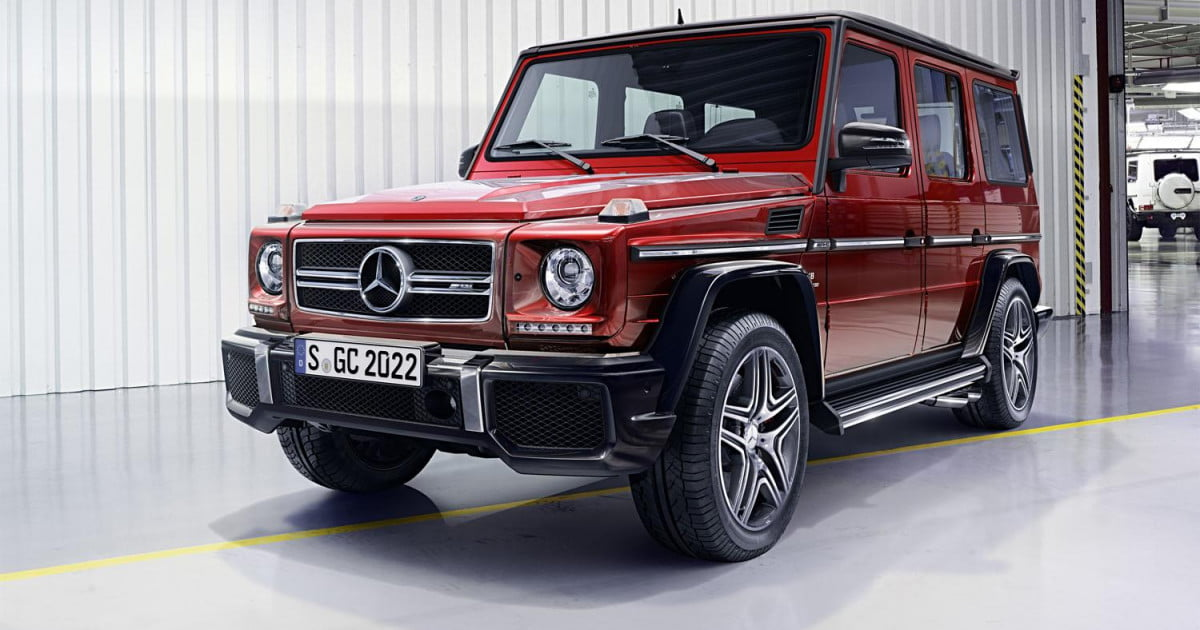 2016 mercedes benz g class news specs pictures for Mercedes benz g class specs