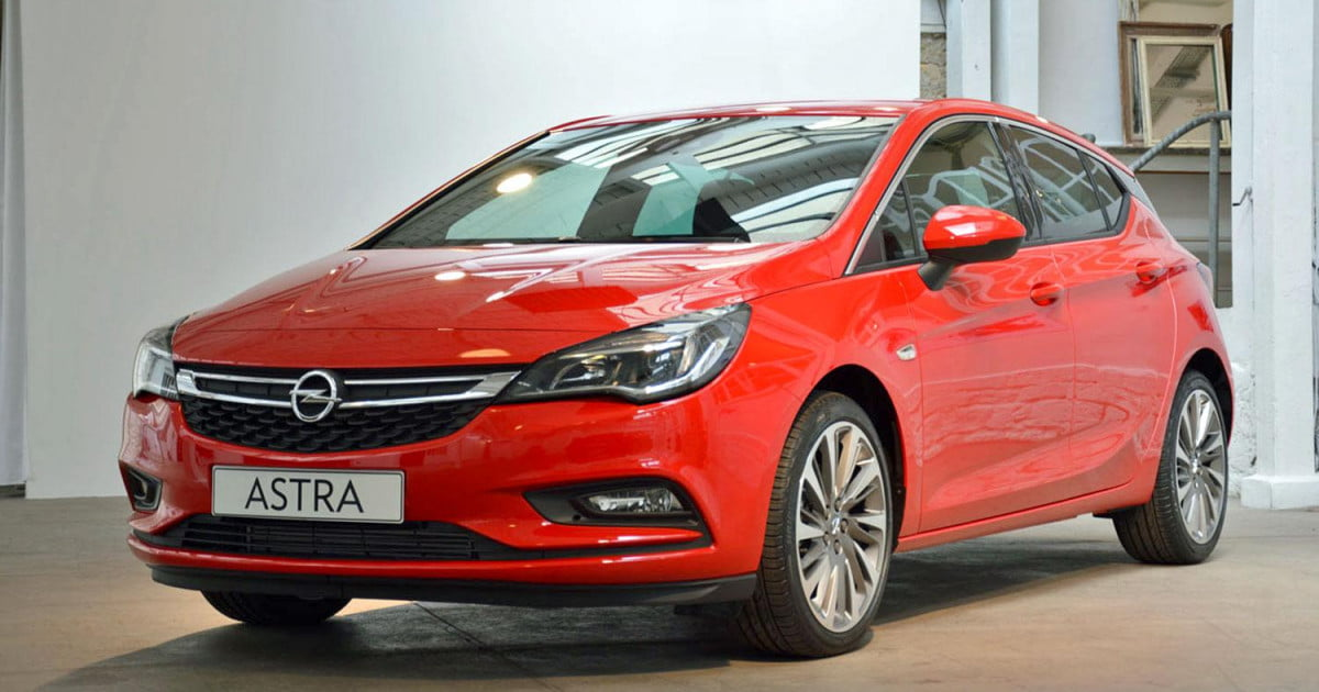 2016 opel astra performance specs pictures hands on digital trends. Black Bedroom Furniture Sets. Home Design Ideas