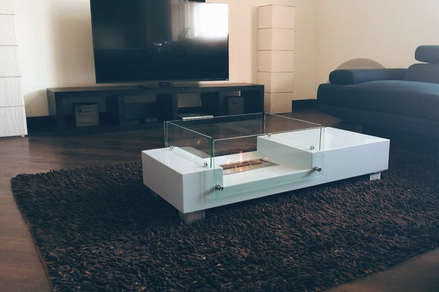 Kickstarter S Fireplace Coffee Table Is So Hot Right Now