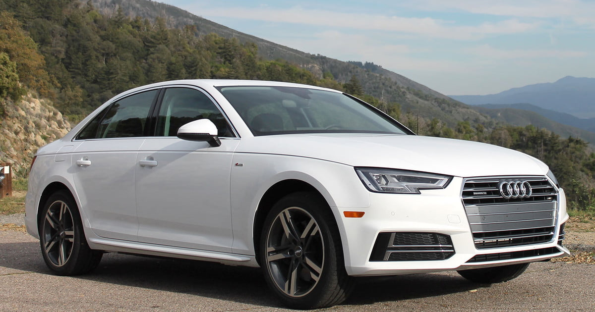 2017 Audi A4 Quattro Only Luxury Awd With Standard Shift