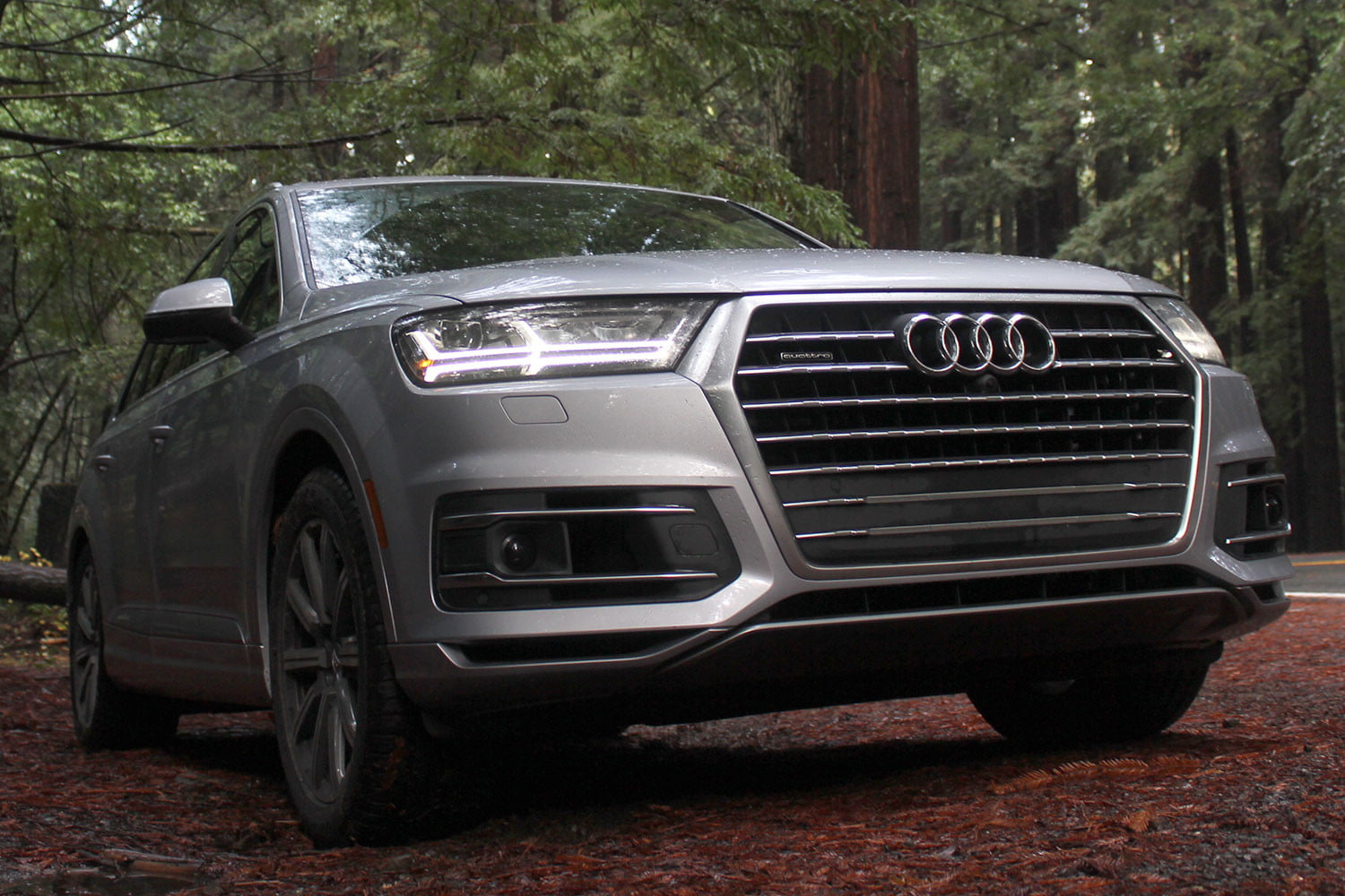 2017 audi q7 first drive review digital trends. Black Bedroom Furniture Sets. Home Design Ideas