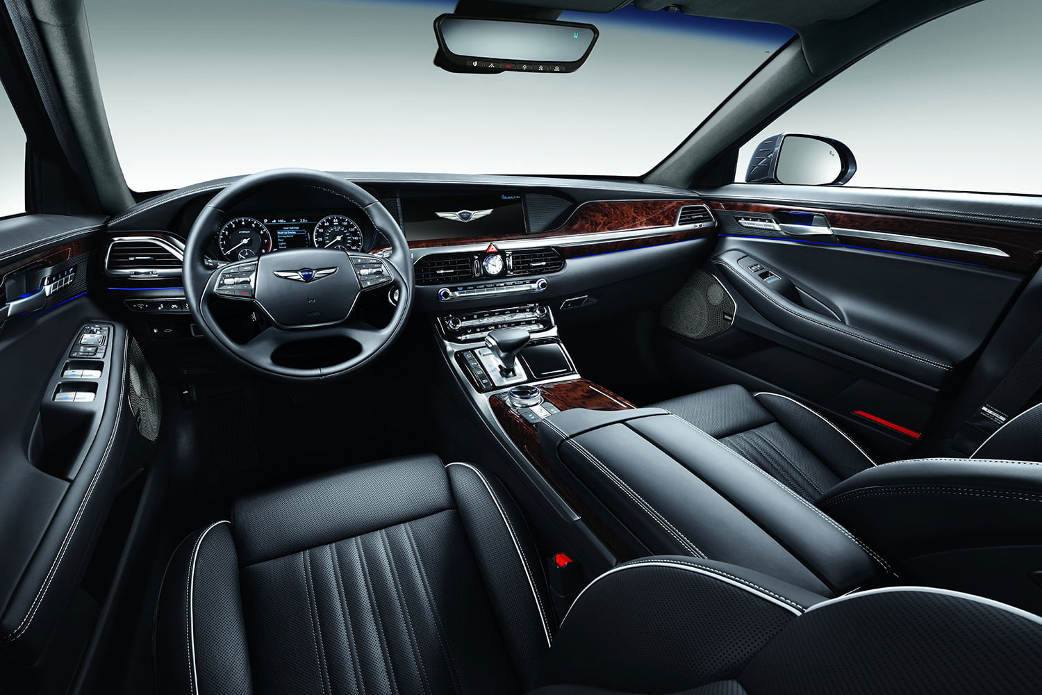 2017 genesis g90 first drive review pictures specs digital trends. Black Bedroom Furniture Sets. Home Design Ideas