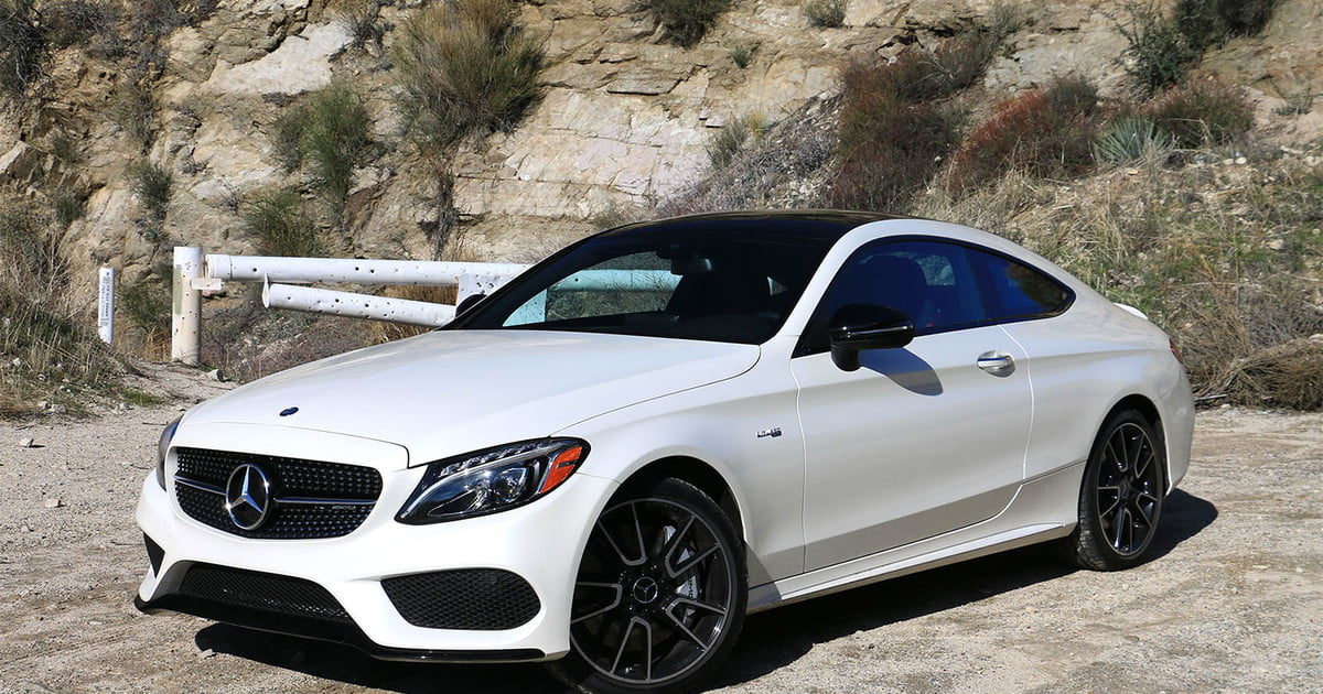 2017 mercedes amg c43 coupe review turbocharged torque hits tarmac digital trends. Black Bedroom Furniture Sets. Home Design Ideas