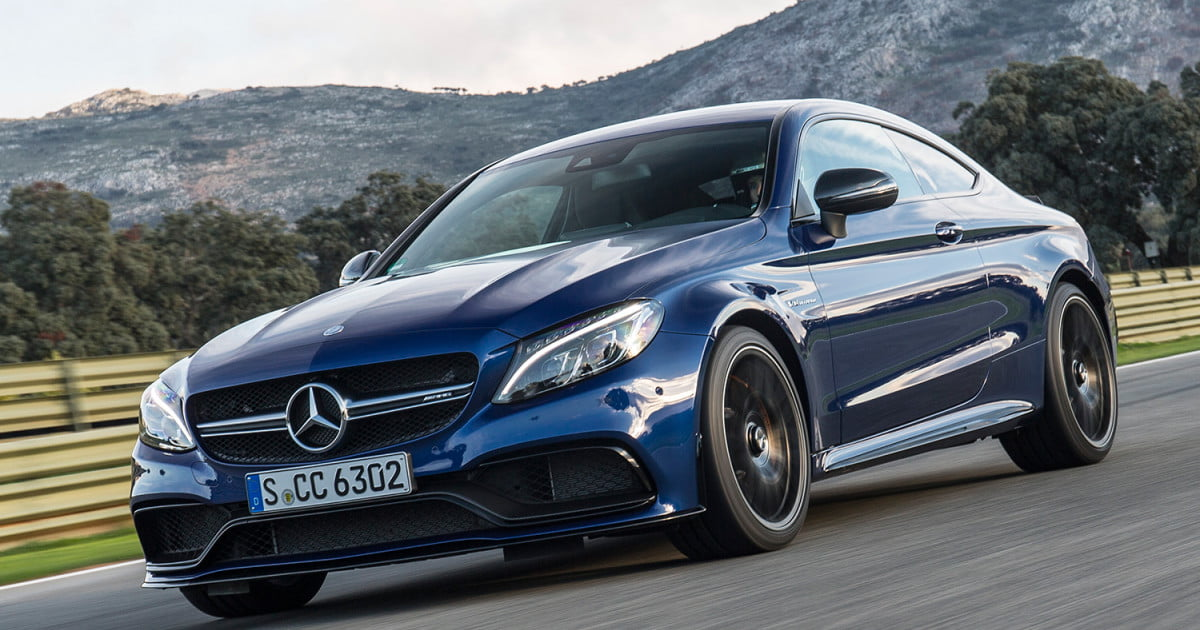 2017 mercedes amg c63 s coupe first drive impressions digital trends. Black Bedroom Furniture Sets. Home Design Ideas