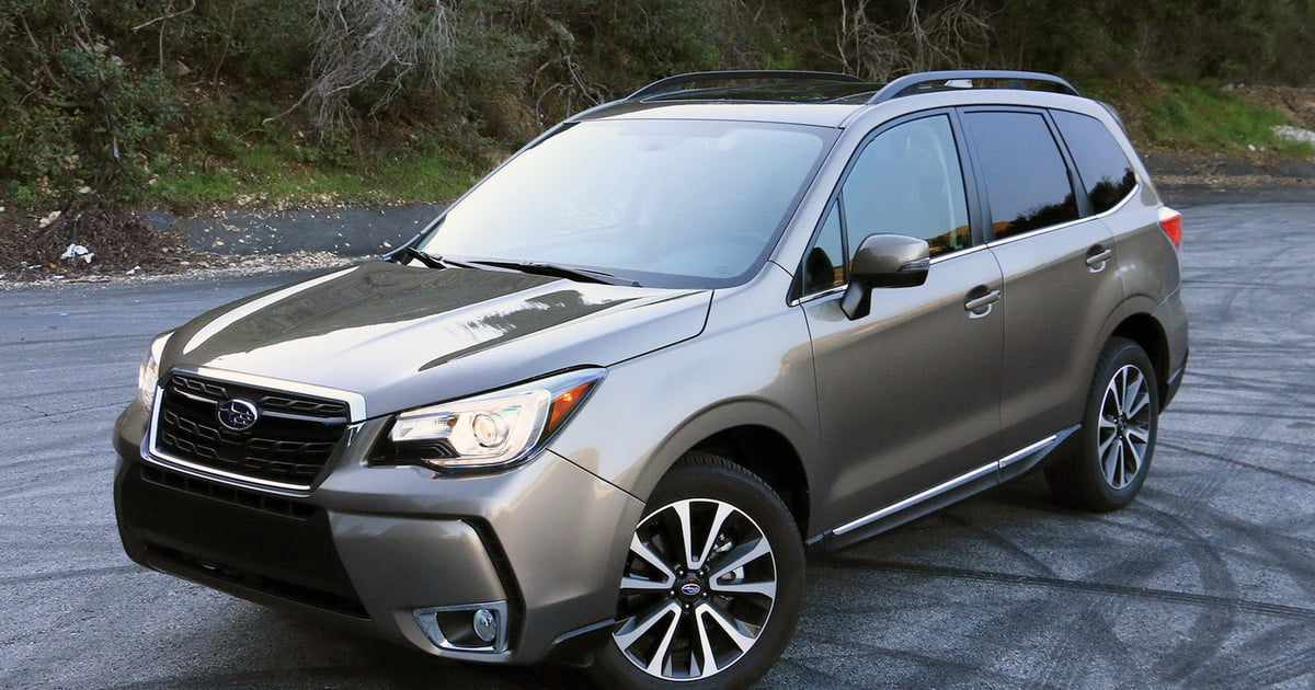 2017 subaru forester 2 0xt touring review digital trends. Black Bedroom Furniture Sets. Home Design Ideas