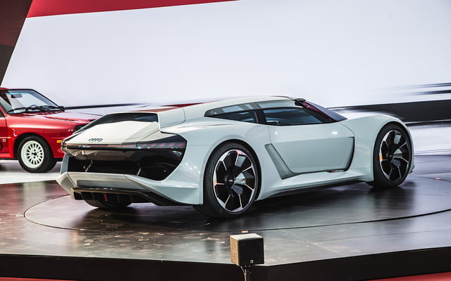 audi pb 18 e tron concept allies performance and electrification 2018 pb18  monterey car week