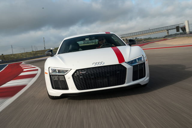 Audi R V Coupe RWS S Tronic First Drive Review Digital Trends - R8 audi