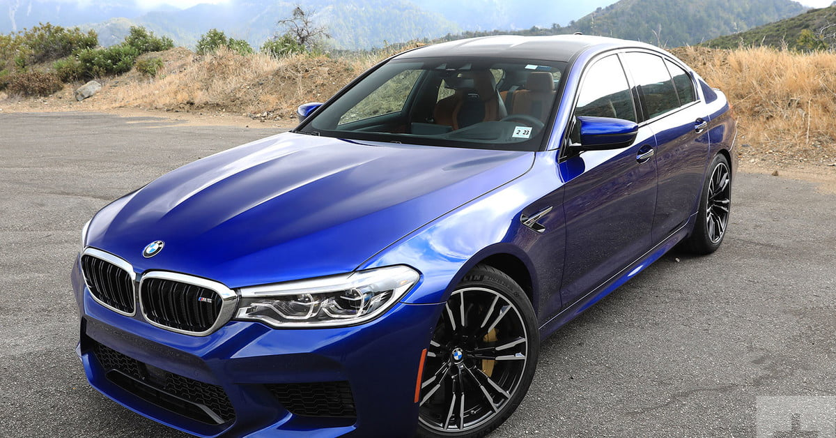2018 bmw m5 review digital trends