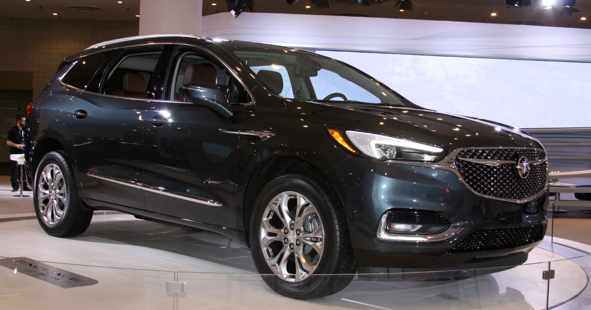 2018 buick enclave news specs pictures performance features digital trends. Black Bedroom Furniture Sets. Home Design Ideas