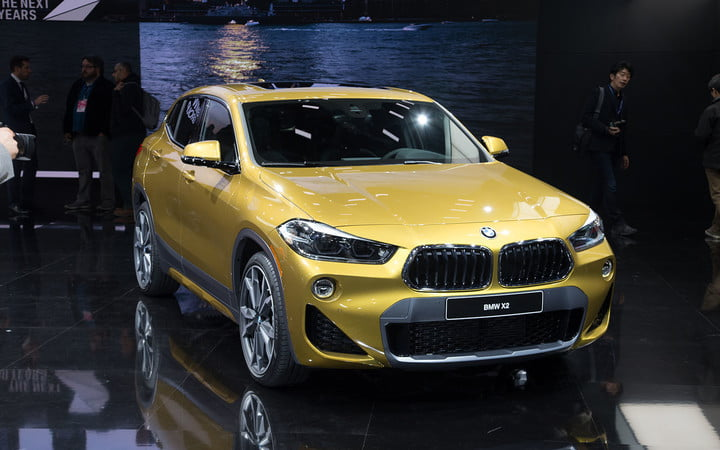 The BMW X Takes Its Official Worldly Bow In Detroit Digital - Bmw car show 2018