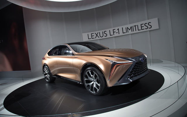 the lexus lf 1 limitless concept previews a new direction for flagship crossover 2018 detroit  12