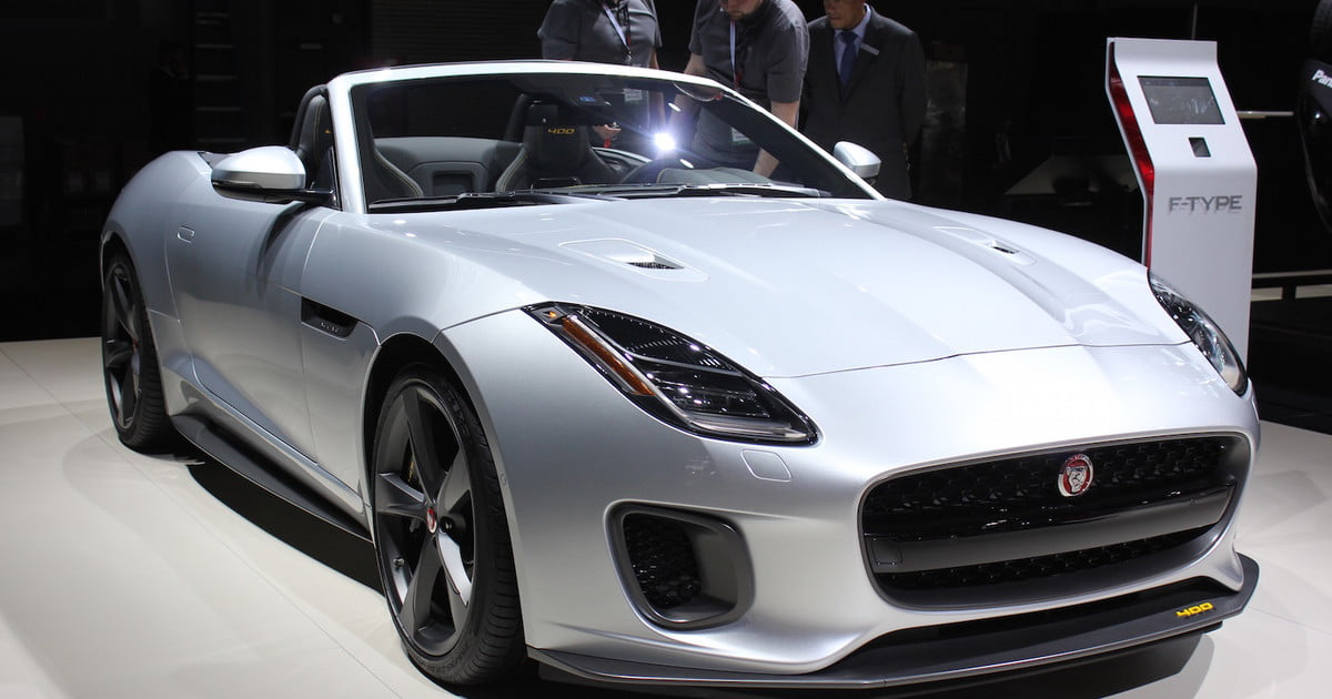 2018 Jaguar F Type Debuts In New York News Pictures