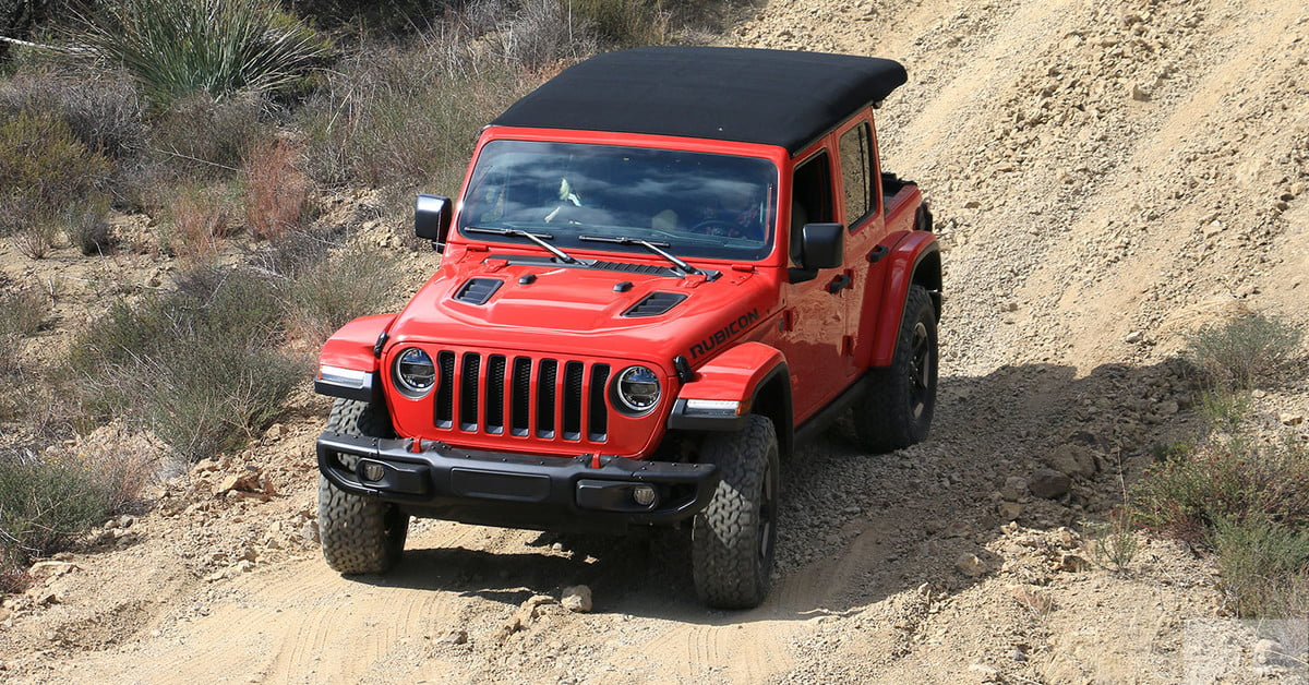 2018 jeep wrangler rubicon first drive review digital trends. Black Bedroom Furniture Sets. Home Design Ideas