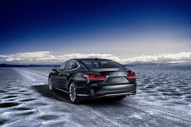 lexus ls may get plug in hybrid ev hydrogen fuel cell variants 2018 ls500h  23